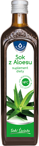 Aloes - Sok z aloesu, 500 ml